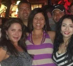 Michele Martinez and her pals