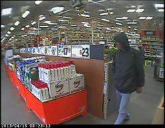 Home depot robber