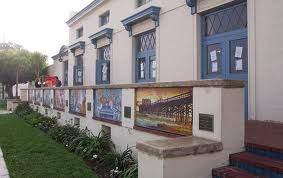 Newport Elementary School murals