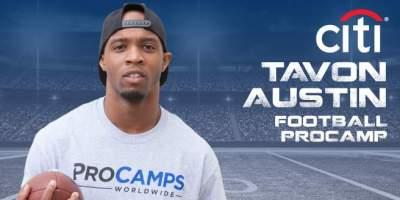 Tavon Austin Football Procamp