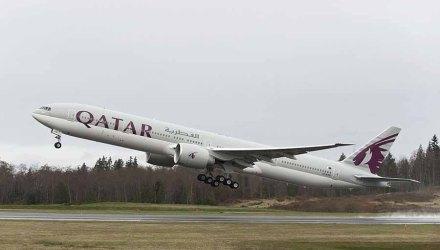 777-300 QTR QatarTakeoff K65224-14