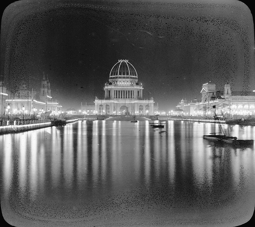 Chicago World's Columbian Exposition in 1893 Administration Building