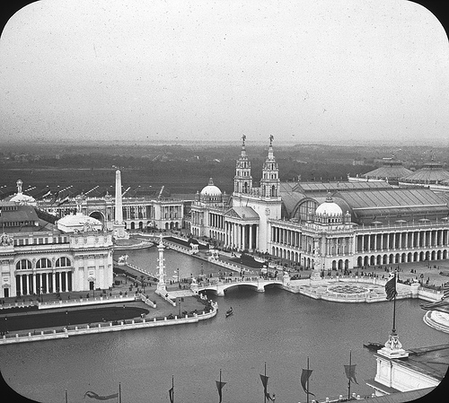 Machinery Hall Chicago World's Columbian Exposition in 1893