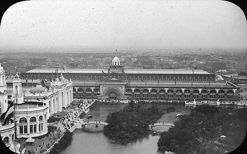 Chicago World's Columbian Exposition in 1893 Transportation Building
