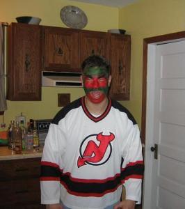Halloween costume devil