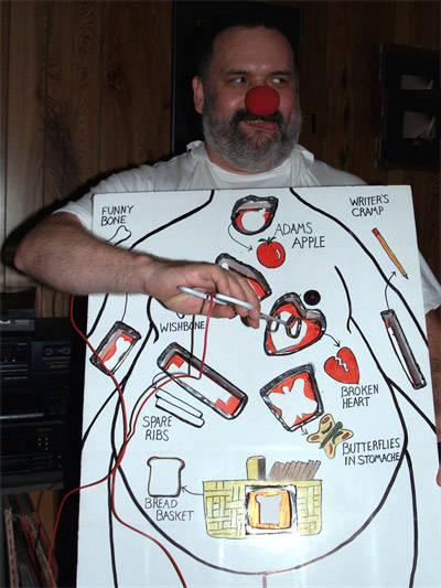 Halloween costume operation game