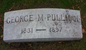 George Pullman grave marker