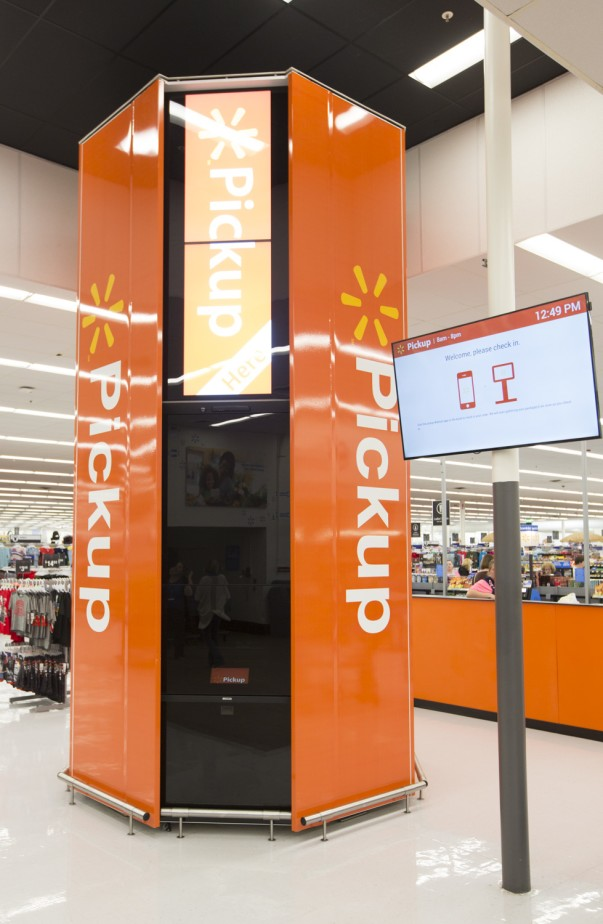 Walmart launches new Pickup tower at store in Delavan