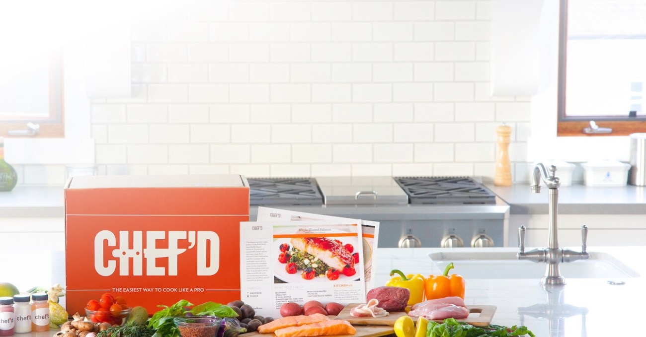 Meal kit startup Chef'd Raises $35 Million from Campbell and Fresh Direct