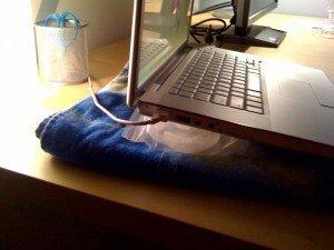 keep laptop cool
