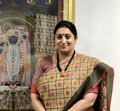 Smriti Irani's #CottonIsCool campaign trends on Twitter