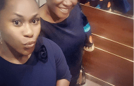 Uche Jombo shares selfie with Patience Ozokwor at the African Film Festival