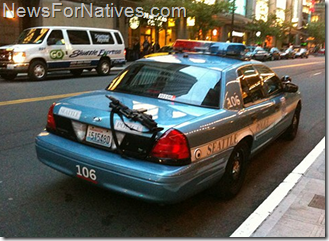 seattle police leave rifle on back of car neglect