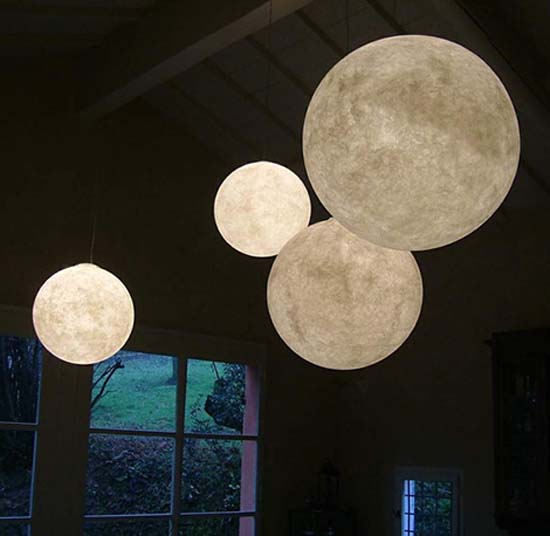 Circle Table Lamp Luna Pendant Light For Beautiful Lighting Decorations