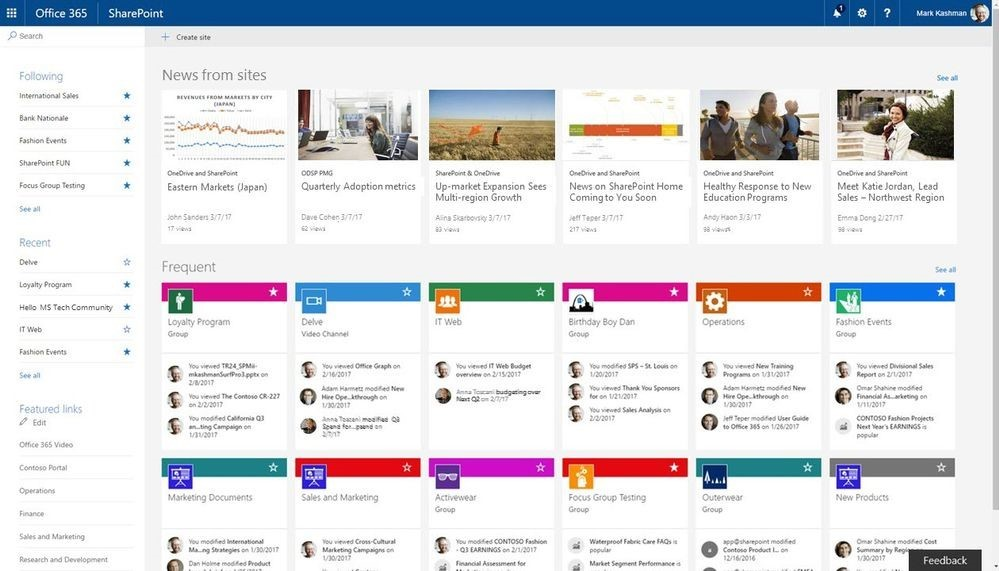 Collaboration Portals in Office 365 - New Signature