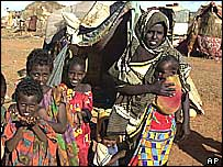 Somali refugees in Kenyan border town