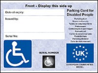 BBC NEWS | UK | New rules for Blue Badge holders