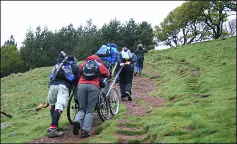 Ben Nevis challenge training