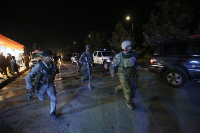 At least seven killed in militant attack on American University in Kabul.