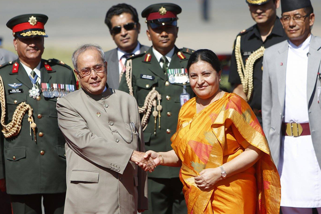 Angry over last year's blockade, Nepalese greet visiting Indian President with barbs on social media