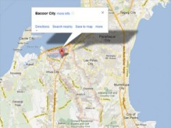 SAN PEDRO, Laguna-Almost half of Bacoor City in Cavite is submerged ...