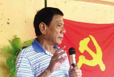 Davao City Mayor Rodrigo Duterte FILE PHOTO