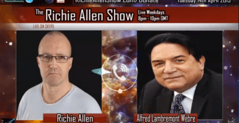 "UK's Richie Allen – Alfred Webre: ""Paedophilia Rings Controlled By Draco Reptilians, Monarchies And The Vatican!"""