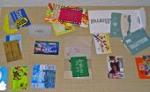 An assortment of gift cards from mayor retailers.  (Credit: Wikipedia)