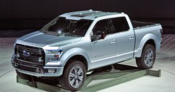 In Detroit, Ford unveiled its Atlas Concept, the next generation of the F-150 trucks that will be available in 2014.