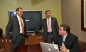 Fusionworks founding partners (from left) Leslie Luciano, Jorge Meja and Jos Santiago.