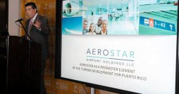 Aerostar Holdings CEO Agustn Arellano discusses how things are going so far at LMM. (Credit:  Mauricio Pascual)