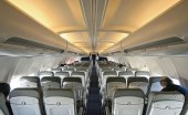 Expanded availability of in-flight Wi-Fi will help meet demand from travelers to connect to a full range of communications services while flying in the contiguous United States, the FCC said. (Credit: www.wikipedia.com)