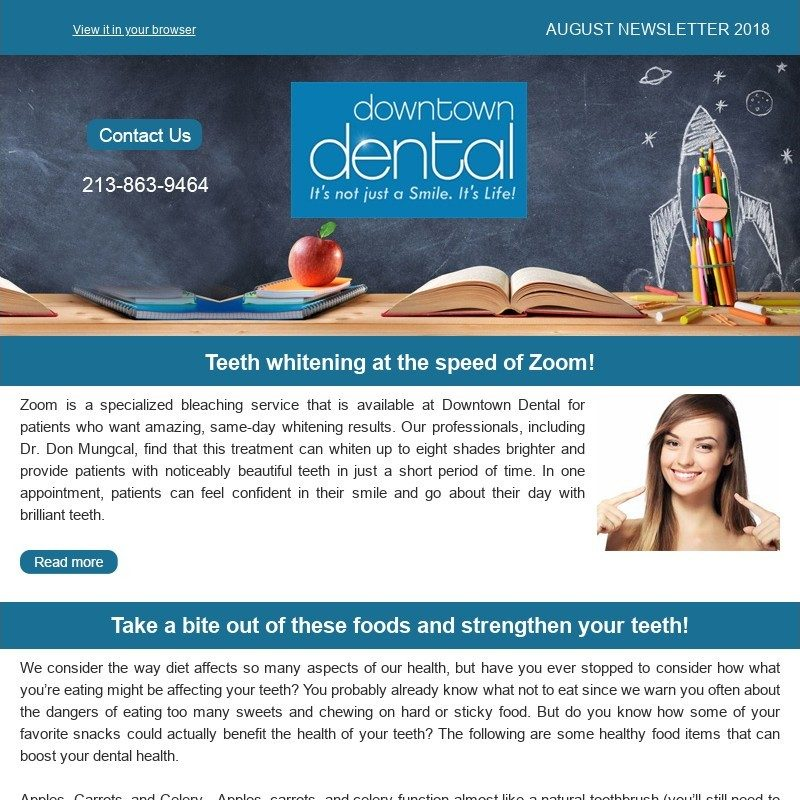 Monthly Newsletters - Dental Newsletters Los Angeles CA