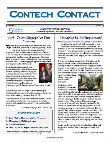 Newsletter  blog articles provided, plus Free Newsletter Design