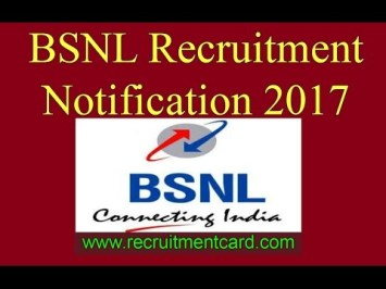 BSNL Recruitment /Newsmahal.com