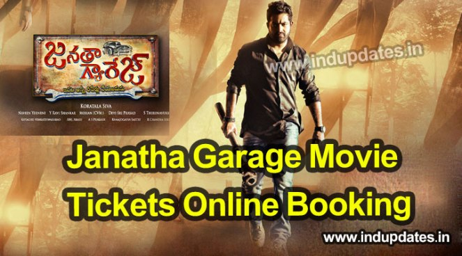 janatha garage tickets booking Online