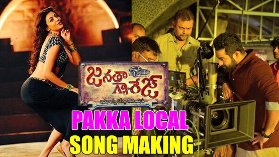 pakka local video song