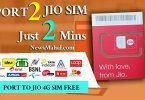 port to jio sim