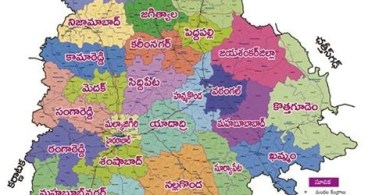 telangana new districts list