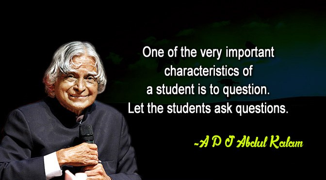 APJ Abdul Kalam Quotes National Students Day8