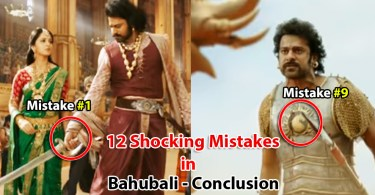 Mistakes in Bahubali