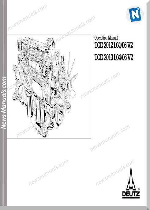Deutz Tcd 2012 2013 L04 06 2V Operation Manual