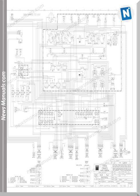 Terex Crane Wiring Diagrams Wiring Diagram