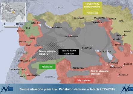IS_map Państwo Islamskie