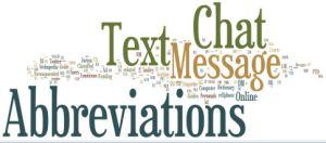 abbreviation sms & text-message