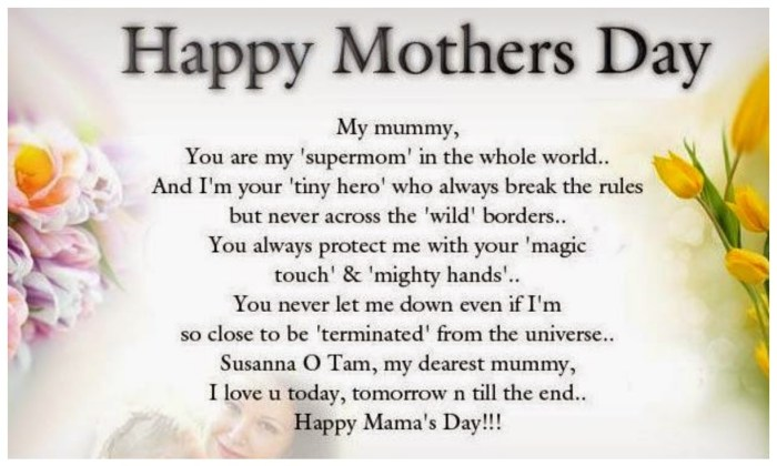 Happy Mother's Day 2017 WhatsApp Status Quotes