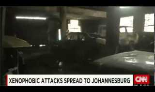 Xenophobic Attacks Spread To Johannesburg – Nigerian Businesses Destroyed In SA