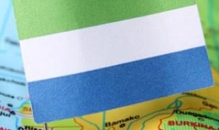 Sierra Leone Flag. (iStock)