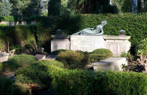 Foto: Grabstätte der Familie Theodor Althoff. Foto: Privat