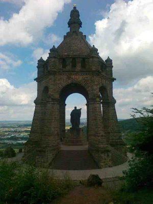 Das Kaiser-Wilhelm-Denkmal in Porta Westfalica/Minden-Lübbecke. Foto: LWL